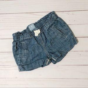 BabyGap Girls 2T Blue Shorts